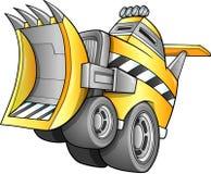 Den apokalyptiska bulldozeren åker lastbil Fotografering för Bildbyråer