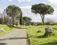 Den Appian vägen Arkivbilder