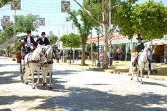 Den April mässan av Seville Arkivfoton