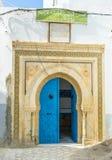 Den arabiska dörren Arkivfoto