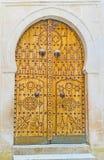 Den arabiska dörren Royaltyfri Foto