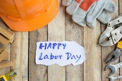 Den arbets- dagen är en federal ferie av Förenta staterna Amerika Royaltyfri Bild