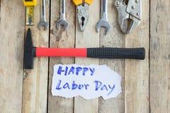 Den arbets- dagen är en federal ferie av Förenta staterna Amerika Royaltyfri Fotografi