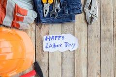 Den arbets- dagen är en federal ferie av Förenta staterna Amerika Arkivbild