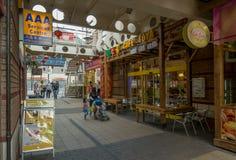 Den Arcadian kinesiska fjärdedelen, Birmingham, UK Arkivbild