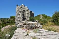 Den Arcadian väggen, Messinia, Grekland royaltyfri foto