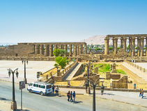 Den arkeologiska platsen Royaltyfri Bild