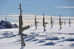 Den arktiska konflikten arkivfoto