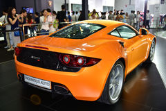 Den Artega GT sportbilen Arkivfoton