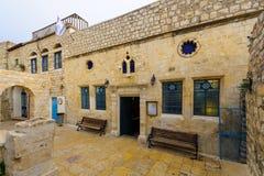 Den Ashkenazi HaAri synagogan, Safed (Tzfat) Arkivfoto
