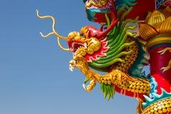 Den asiatiska kinesiska draken och phoenixen, kinesisk kultur Royaltyfria Foton