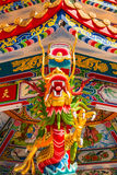 Den asiatiska kinesiska draken och phoenixen, kinesisk kultur Royaltyfri Fotografi