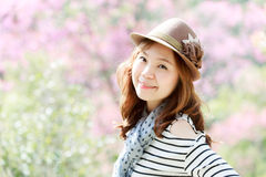 Asien kvinna Arkivbild