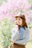 Asien kvinna Arkivfoto