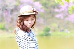 Asien kvinna Royaltyfri Fotografi