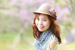 Asien kvinna Royaltyfria Foton