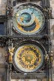 Den astronomiska klockan i Prague Royaltyfri Fotografi