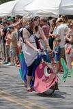 den atlanta festivalen inman georgia ståtar parkfjädern Royaltyfri Bild