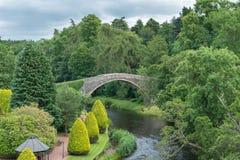 Den Auld Briggen på Alloway Ayr Royaltyfria Foton