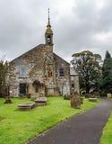 Den auld kirkkyrkan, stewartonayrshire Skottland Fotografering för Bildbyråer