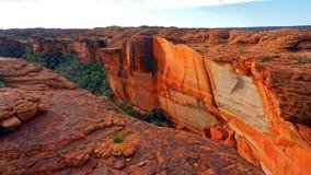 den Australien kanjonen görar till kung nationalparkwatarrka Royaltyfria Foton