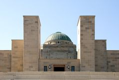 den australiensiska minnesmärken kriger Fotografering för Bildbyråer