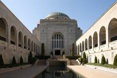 den australiensiska minnesmärken kriger Royaltyfria Foton