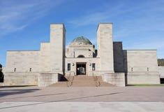 Den australiska krigminnesmärken i Canberra Arkivfoto
