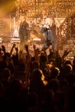 Den Avantasia Ghostlights världen turnerar 2016 i Bratislava, Slovakien Arkivbilder