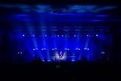 Den Avantasia Ghostlights världen turnerar 2016 i Bratislava, Slovakien Royaltyfri Bild