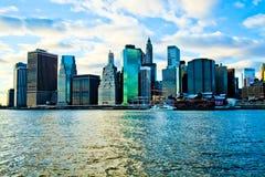 Den bästa sikten av New York Arkivbilder