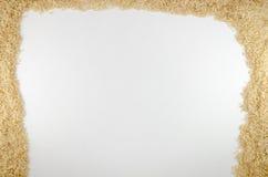Den bästa sikten av ris Royaltyfri Foto