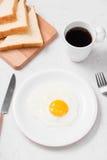 Den bästa sikten av traditionellt sunt lätt snabbt frukostmål gjorde nolla Arkivfoton