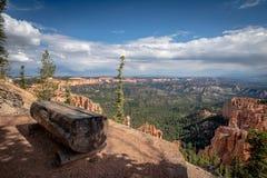 Den bästa sikten, Bryce Canyon, Utah arkivfoton