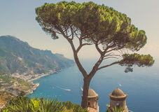 Den bästa sikten i Italien Europa royaltyfria foton