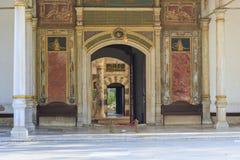 Den Babussaade portporten av Felicity i den Topkapi slotten, Istanbul royaltyfria foton