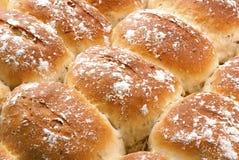 den bakade brödspiskumminen rullar nytt Royaltyfri Foto