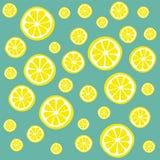 den bakgrund isolerade citronen skivar white Arkivfoton
