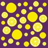 den bakgrund isolerade citronen skivar white Arkivfoto