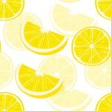 den bakgrund isolerade citronen skivar white modell Royaltyfri Foto