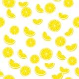 den bakgrund isolerade citronen skivar white modell Arkivbild