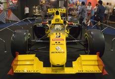 den bangkok f1 motorn renault visar Royaltyfria Foton