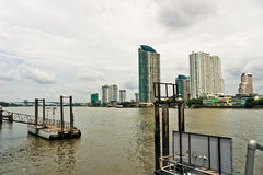 Den bangkok hamnen Royaltyfri Foto