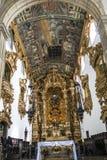 Den barocka arkitekturen av den Carmo kyrkan i Olinda Royaltyfri Bild