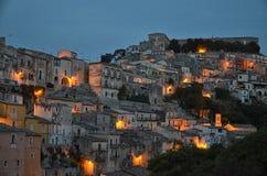 Den barocka staden av Ragusa Fotografering för Bildbyråer