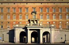 Den barocka stilbyggnaden av Royal Palace av Stockholm i den gamla staden Gamla Stan, Stockholm, Sverige Arkivfoton