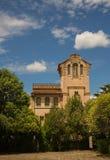 Den Barraquer herrgården på La Garriga Arkivfoton