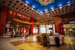 Den Battuta gallerian är den mest härliga supermarket i Dubai Royaltyfri Bild