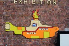 Den Beatles berättelseutställningen i Liverpool, i UK Royaltyfri Foto