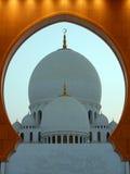 Den bedöva Sheikh Zayed Mosque arkivfoto